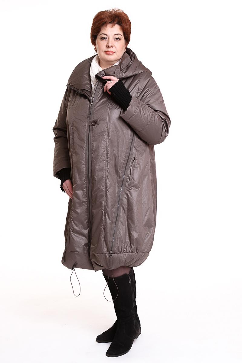 """Пальто """"SULU"""" (ГЕРМАНИЯ) Цвет: серо-коричневый. - 30900 руб"""