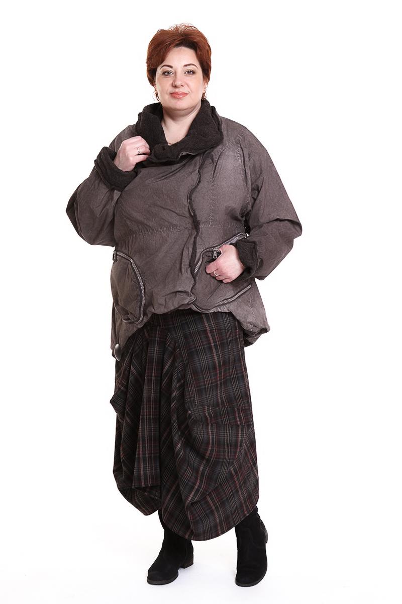 """Куртка """"Barbara"""" (ГЕРМАНИЯ) на шерстяном подкладеЦвет: черный, коричневый, серый. - 34650 руб"""