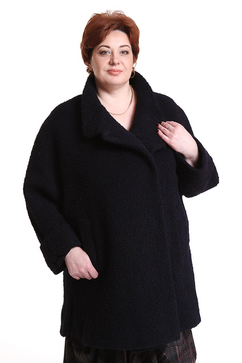 """Пальто """"Bauer"""" (ГЕРМАНИЯ) (шерсть)Цвет: синий. - 52500 руб"""