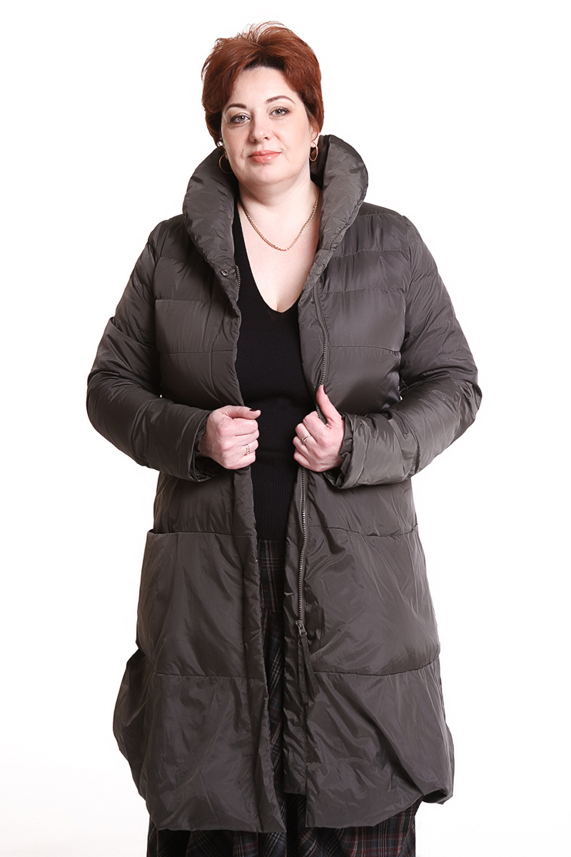 """Пальто """"Studio Rundholz"""" (ГЕРМАНИЯ) цвет: черный, хаки - 29990 руб"""