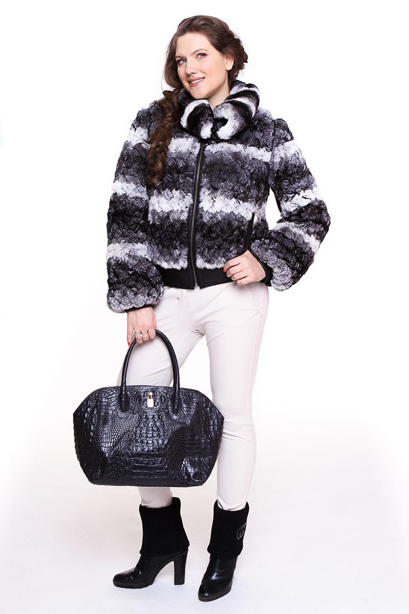 Куртка WEITRAL (ЮЖНАЯ КОРЕЯ) (вязанный кролик). - 14990 руб